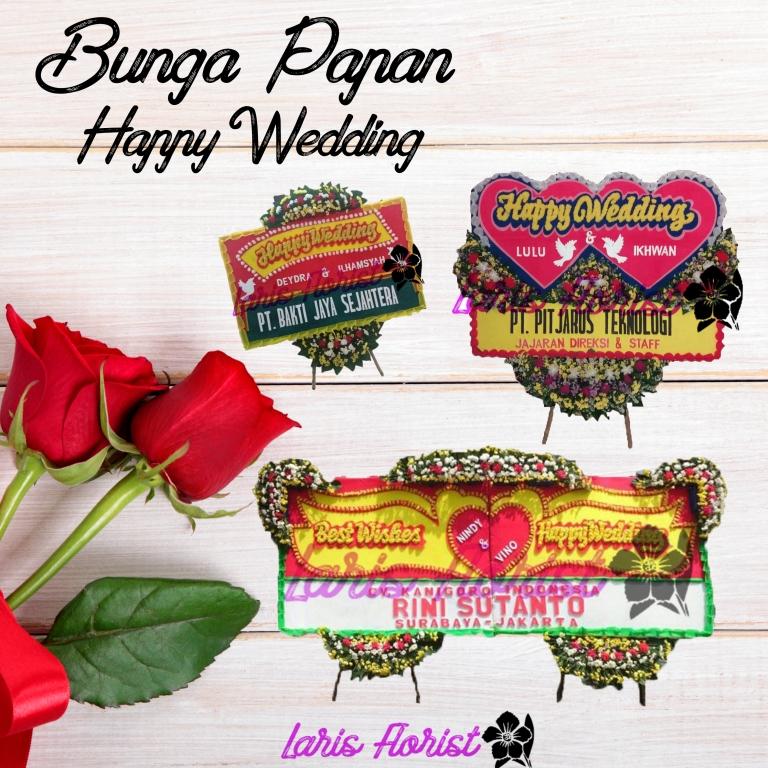 Toko bunga wedding